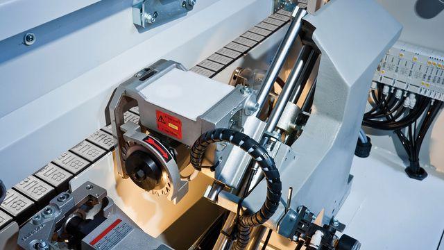 Agrégat de coupe en bout pneumatique - 60 mm