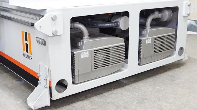 Gain de place avec les pompes à vide intégrées dans le bâti machine