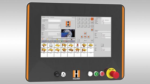 Commande PC de HOLZ-HER: des standards élevés pour une utilisation sûre à long terme