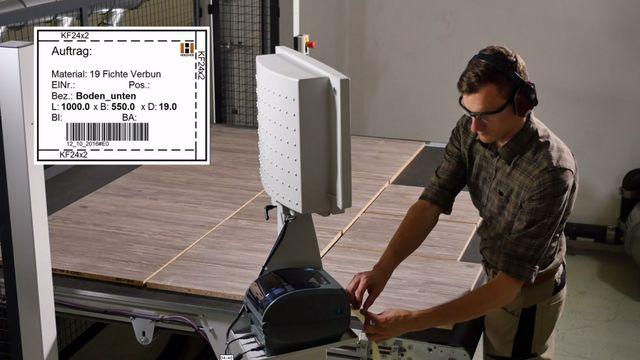 TouchLabel: la solution parfaite durant l'étiquetage